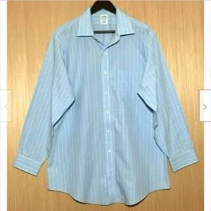 Brooks Brothers 1818 Regent Button Front Shirt 17